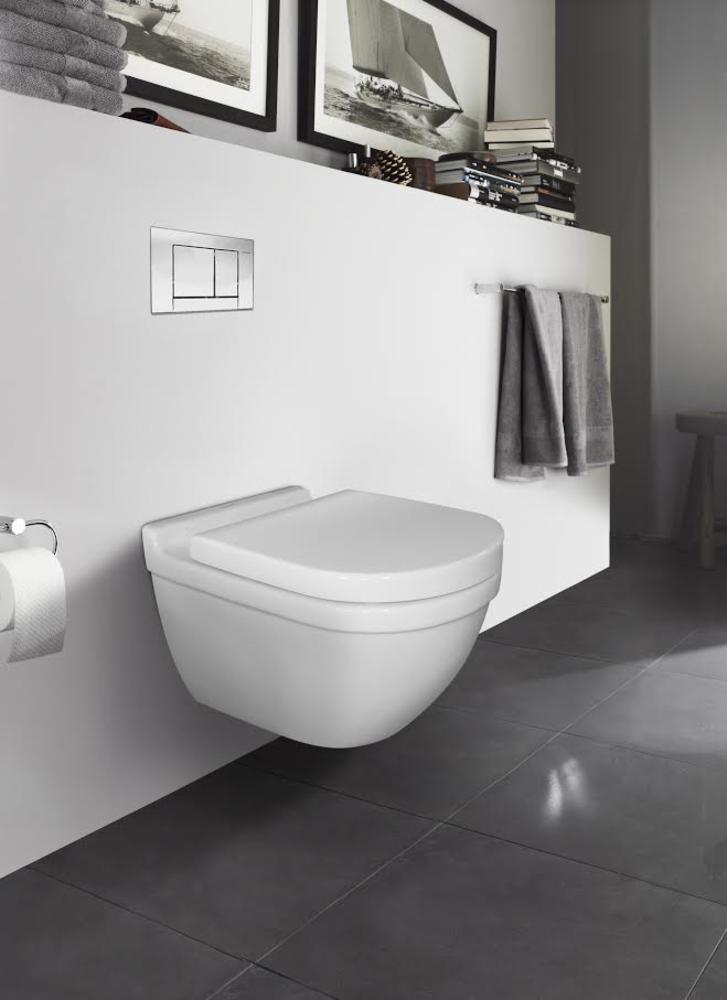 Duravit Starck 3 Veggskål, med toalettsete | Tempe VVS